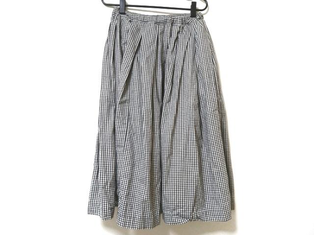 BLACK COMMEdesGARCONS(ブラックコムデギャルソン)のスカート 黒×白