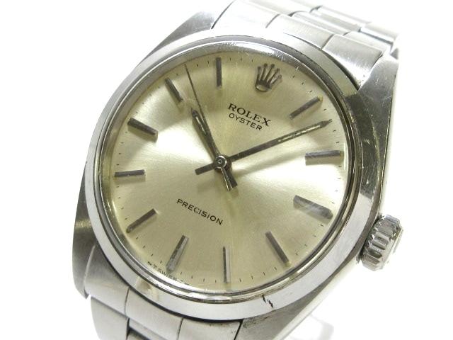 san francisco 00060 a942b ロレックス 腕時計 オイスタープレシジョン 6427 メンズ シルバー