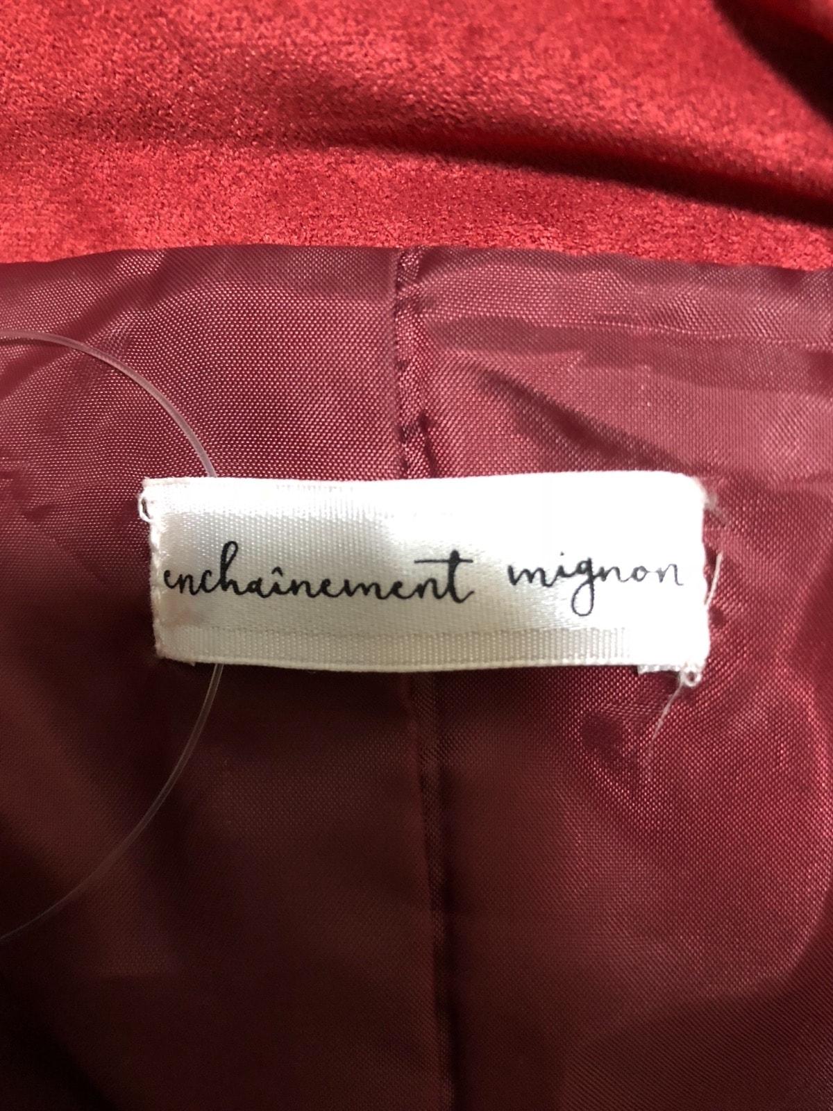 enchainement mignon(アンシェヌマンミニョン)のコート
