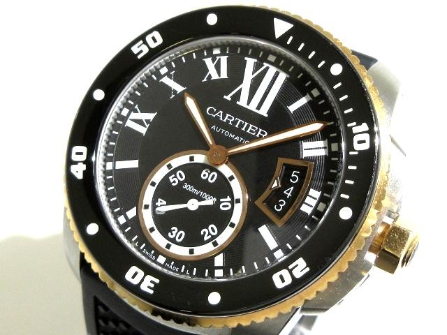 カルティエ カリブルドゥカルティエダイバー 腕時計