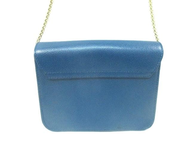 22e99ed83a1f ... FURLA(フルラ) ショルダーバッグ美品 メトロポリス ブルー レザー ...