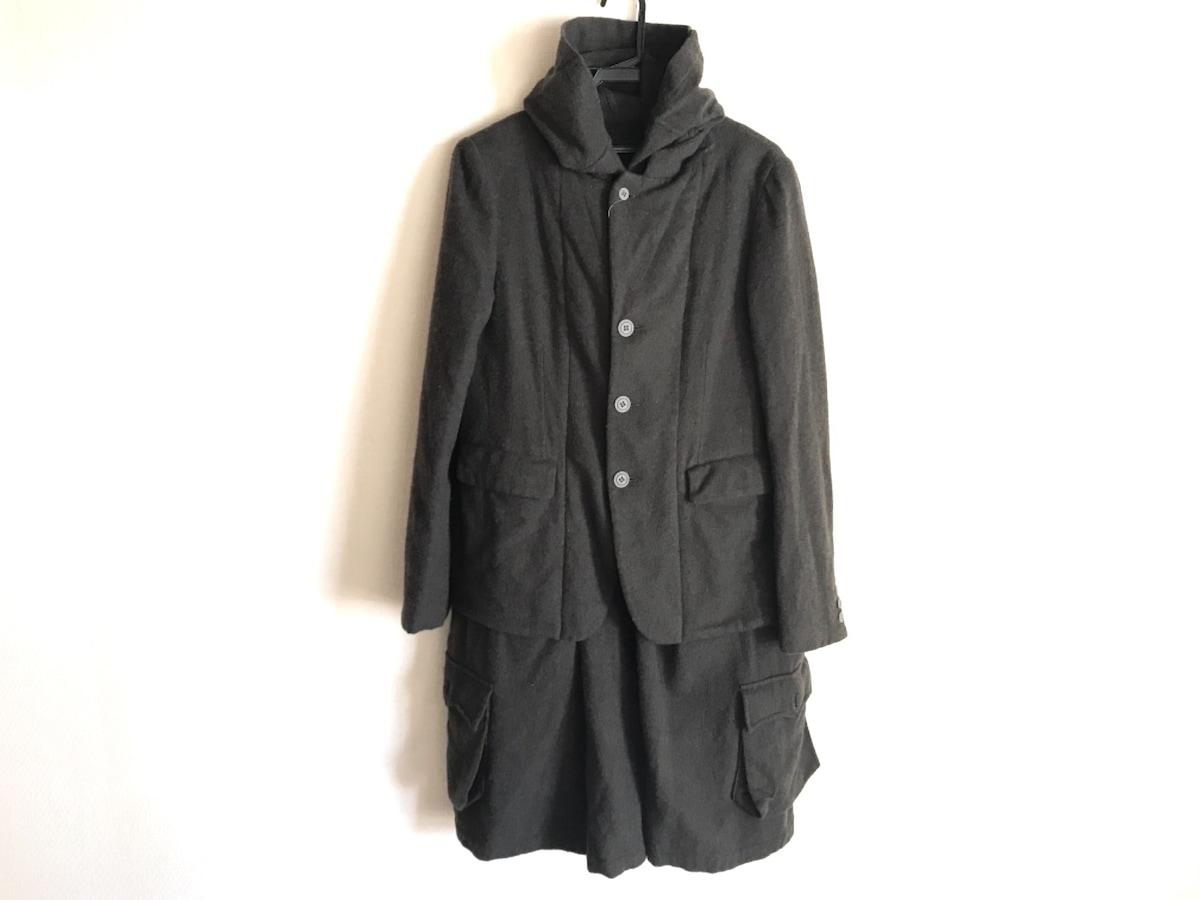 BLACK COMMEdesGARCONS(ブラックコムデギャルソン)のコート カーキ