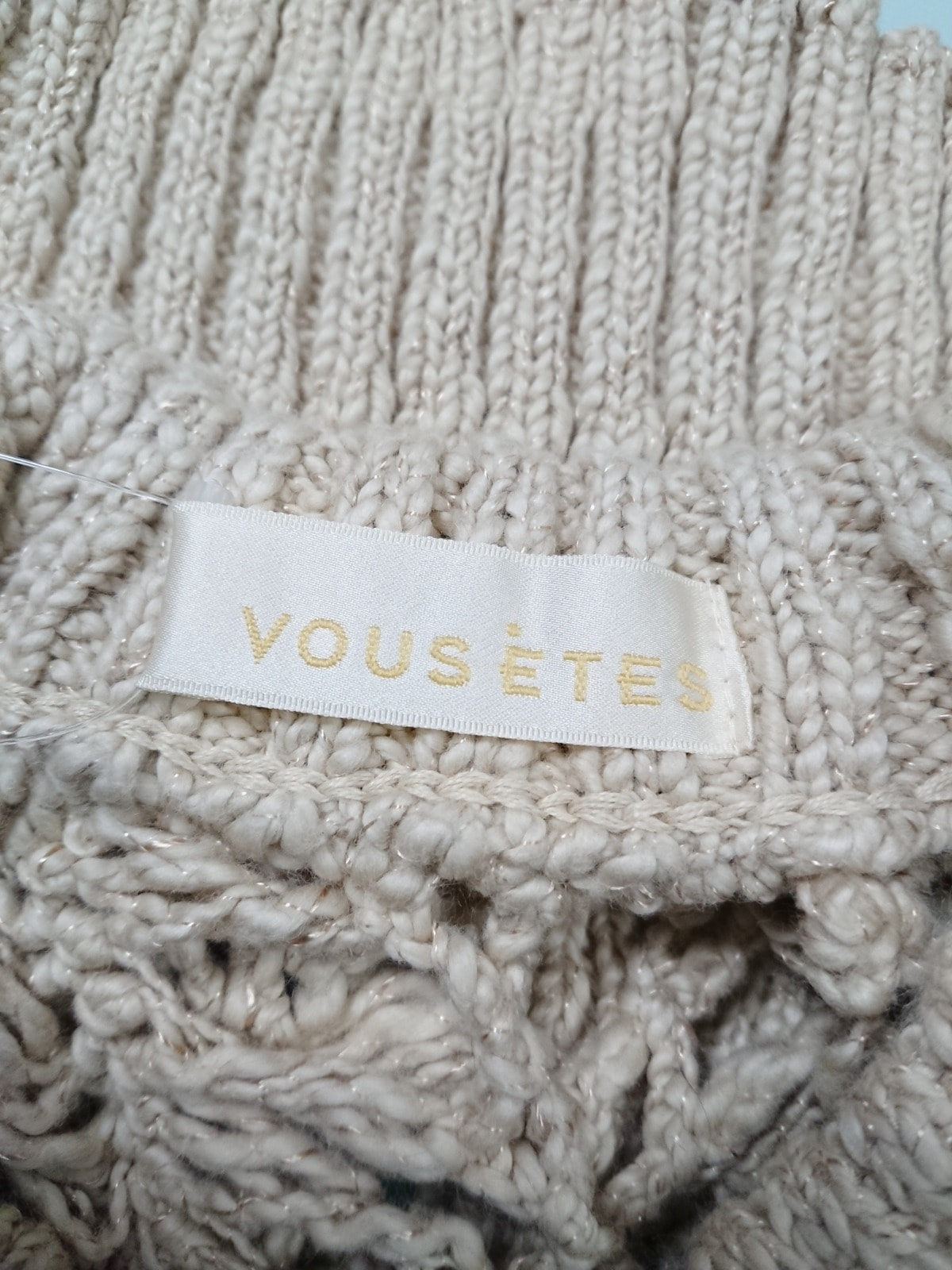 VOUS ETES(ヴゼット)のセーター