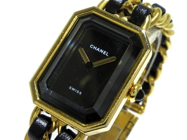 more photos faed6 b8e4d CHANEL(シャネル) 腕時計 プルミエール H0001 レディース 黒