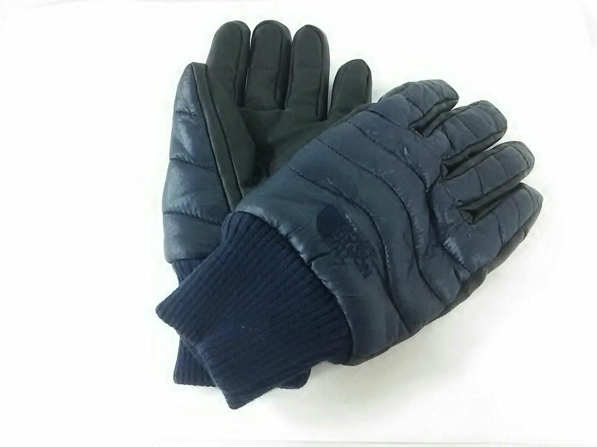 THE NORTH FACE(ノースフェイス)の手袋 ダークネイビー×黒