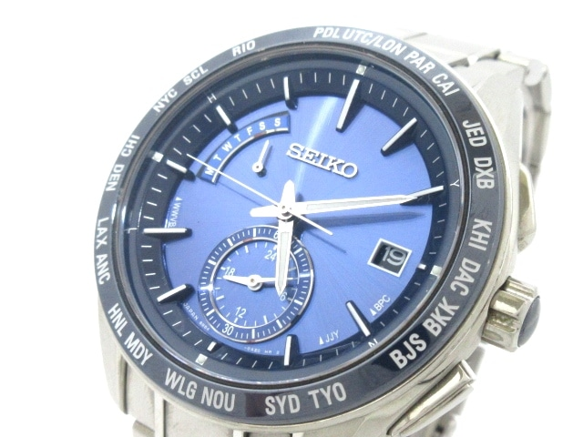 524f5bddbf セイコー 腕時計 ブライツ 8B54-0BF0/SAGA177 メンズ ダークネイビー ...