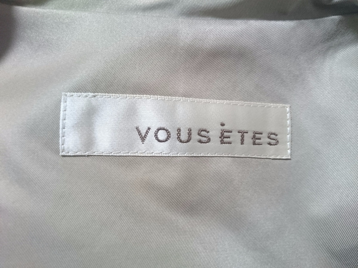 VOUS ETES(ヴゼット)のコート