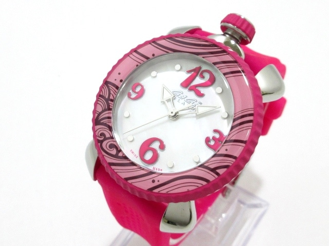 pretty nice c42c5 c7a63 ガガミラノ 腕時計美品 レディスポーツ 7020.06 レディース