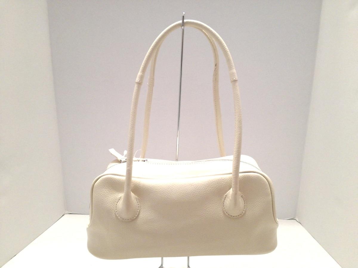 土屋鞄製造所(ツチヤカバンセイゾウショ)のハンドバッグ 白