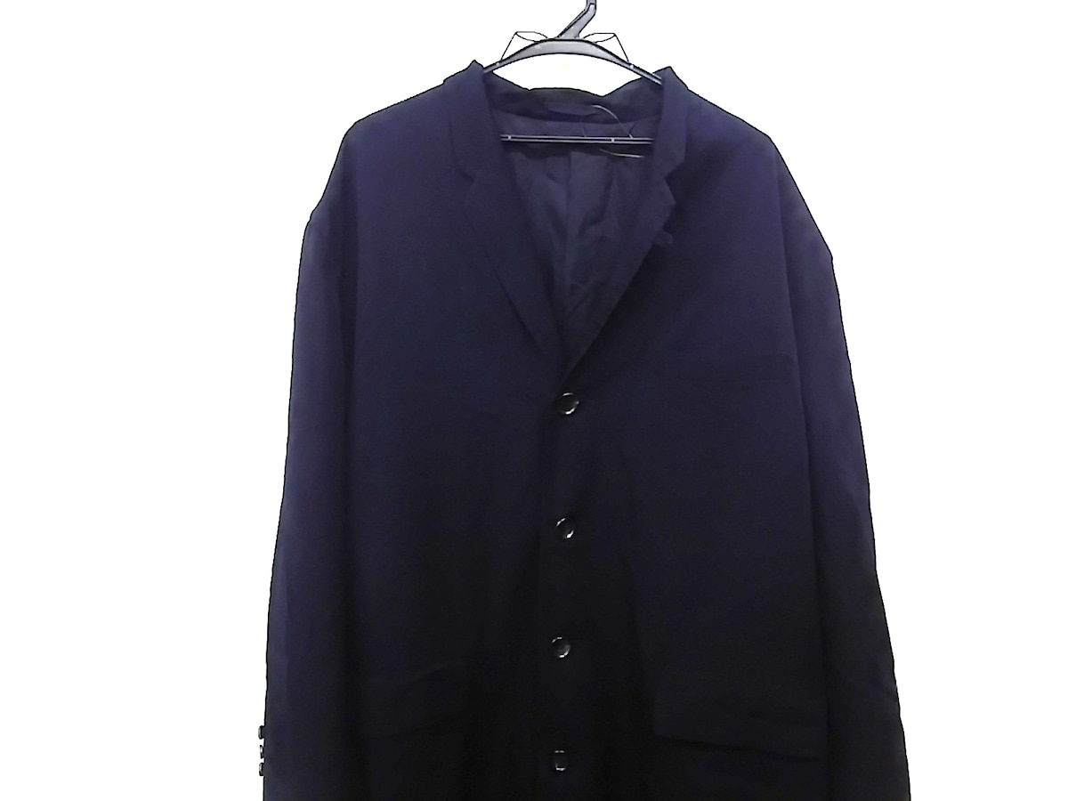 COMMEdesGARCONS HOMME(コムデギャルソンオム)のコート 黒