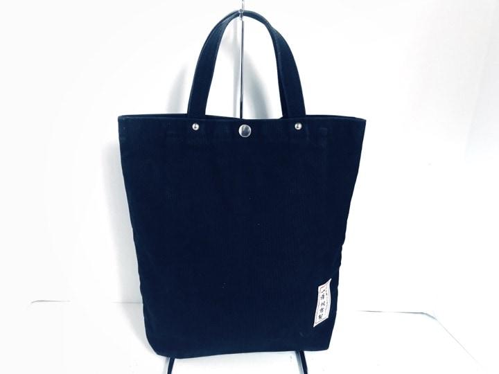 一澤帆布(イチザワハンプ)のハンドバッグ 黒