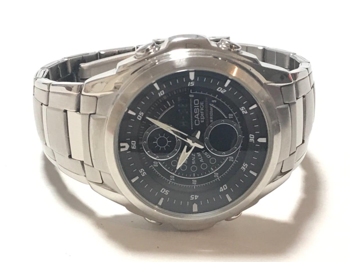 c3ef8d068b ... CASIO(カシオ) 腕時計 エディフィス EFA-116 メンズ クロノグラフ 黒 2 ...
