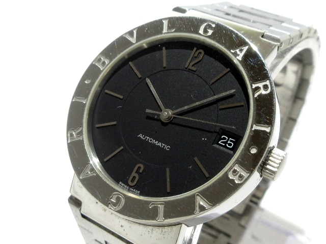 07f7d733d5cd BVLGARI(ブルガリ) 腕時計 ブルガリブルガリ BB33SS AUTO メンズ 黒 ...