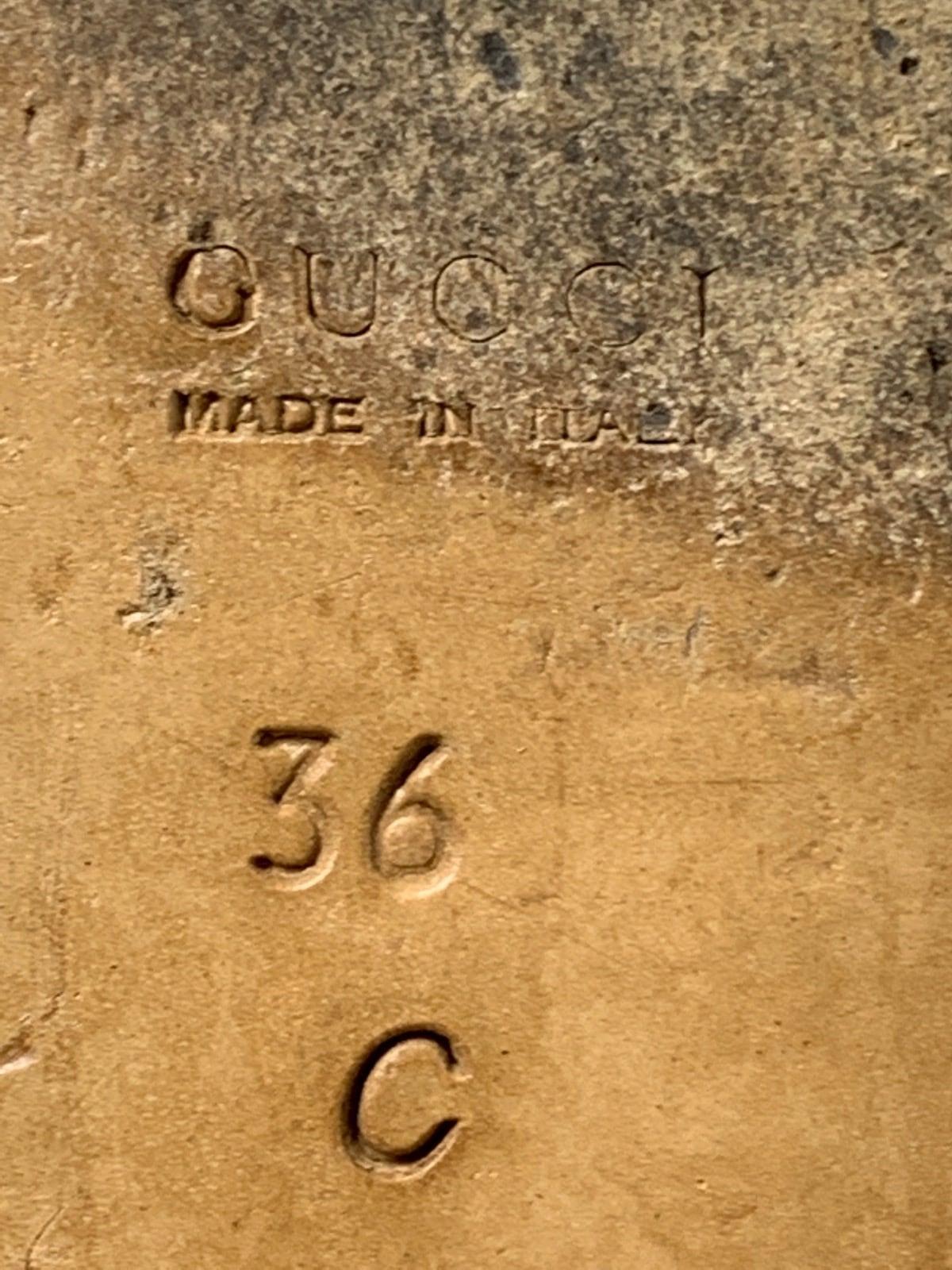 18e6ce4c3de3 GUCCI(グッチ) ローファー レディース ホースビット 黒 レザー(12870999 ...