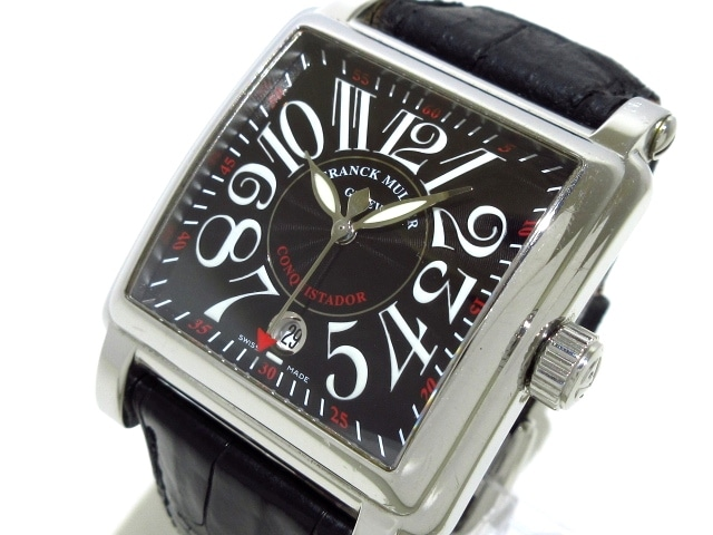 new product b025e 44353 フランクミュラー 腕時計 コンキスタドールコルテス 10000HSC メンズ