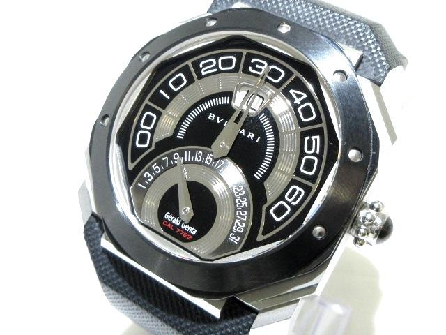 ブルガリ オクトバイレトロ 腕時計