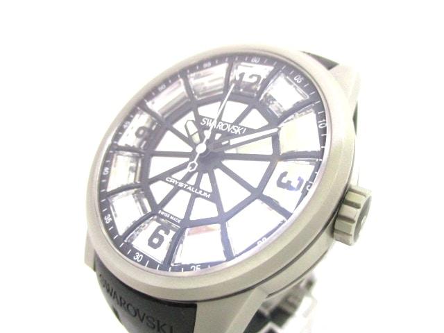SWAROVSKI(スワロフスキー)の腕時計 シルバー