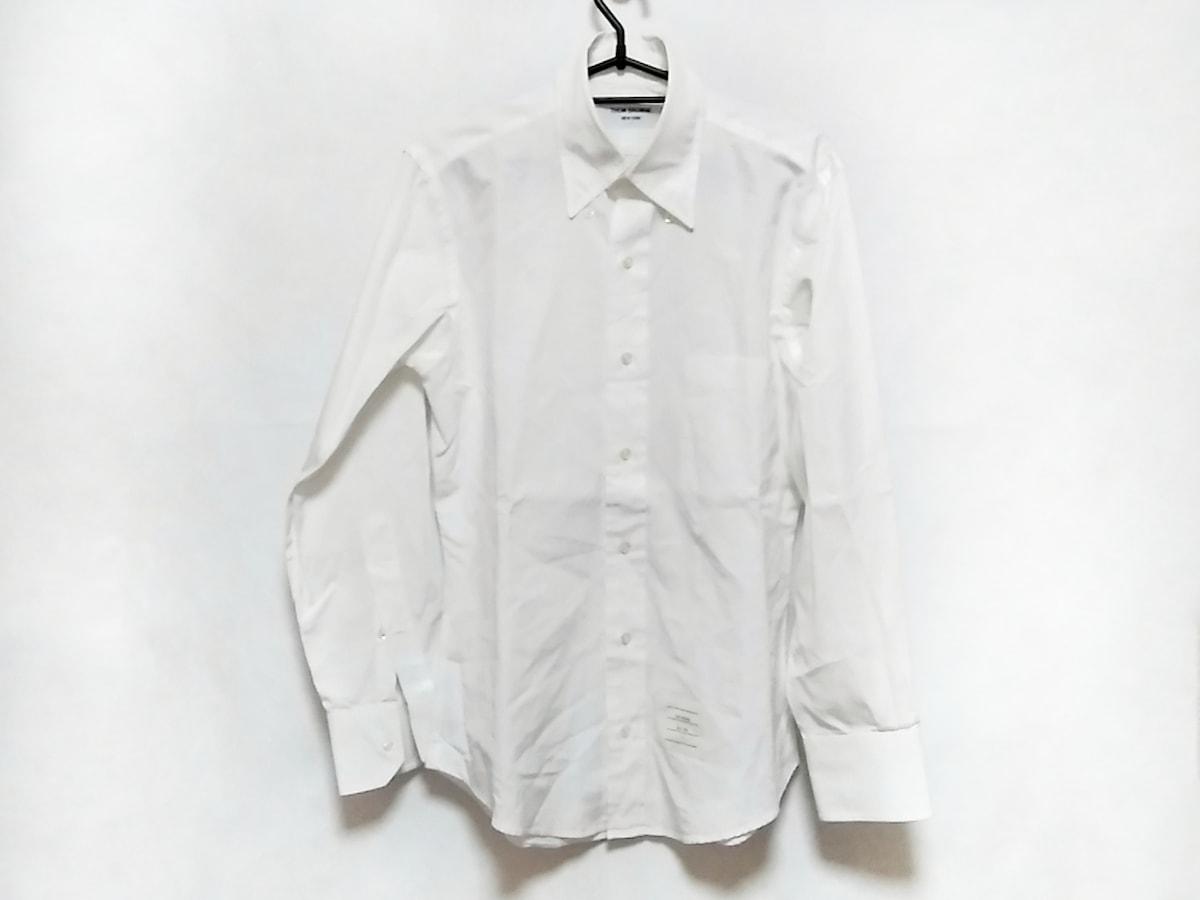 THOM BROWNE(トムブラウン)のシャツ 白