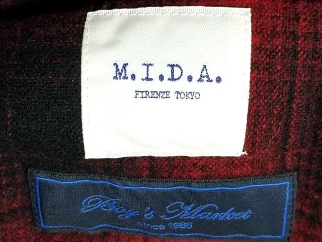 M.I.D.A.(ミダ)のブルゾン