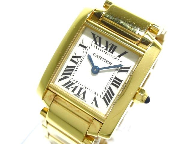 カルティエ タンクフランセーズSM 腕時計