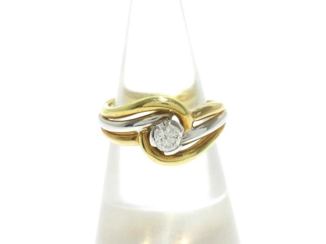 DAMIANI(ダミアーニ)のリング K18YG×K18WG×ダイヤモンド