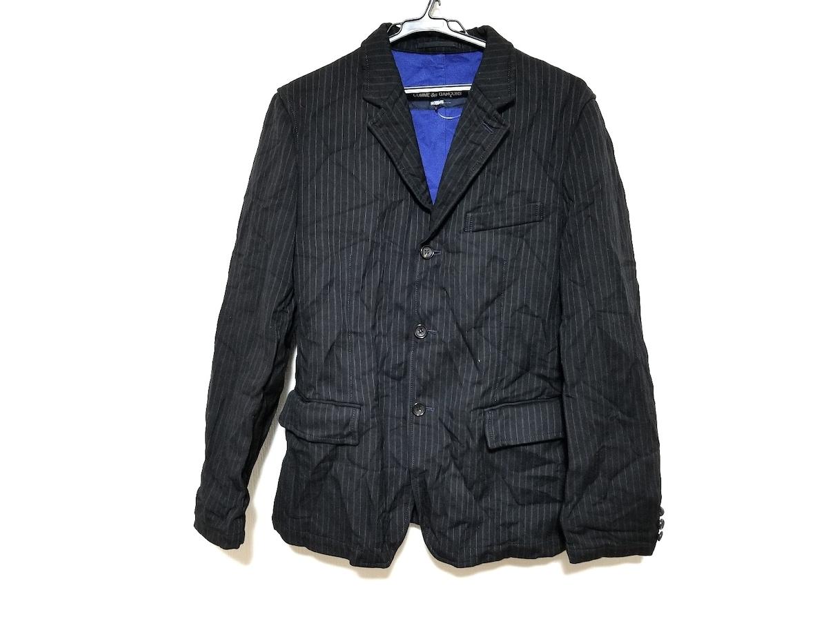 COMMEdesGARCONS HOMME(コムデギャルソンオム)のジャケット 黒