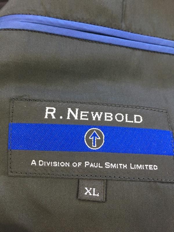 R.Newbold(アールニューボールド)のメンズスーツ