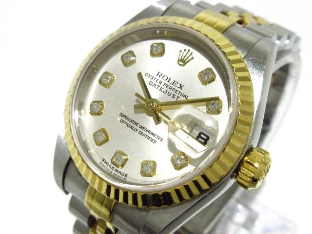 new style f037a a67db ロレックス 腕時計 デイトジャスト 79173G レディース シルバー