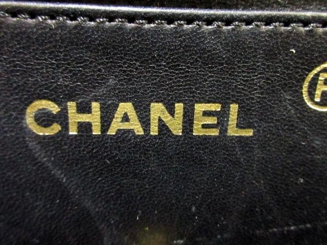 61409b191ab0 CHANEL(シャネル) ショルダーバッグ美品 - 黒 クロコダイル(12922653 ...