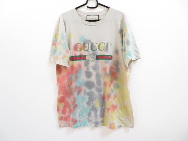 online store af04f 5431a グッチ 半袖Tシャツ レディース グッチ ロゴ コットン Tシャツ