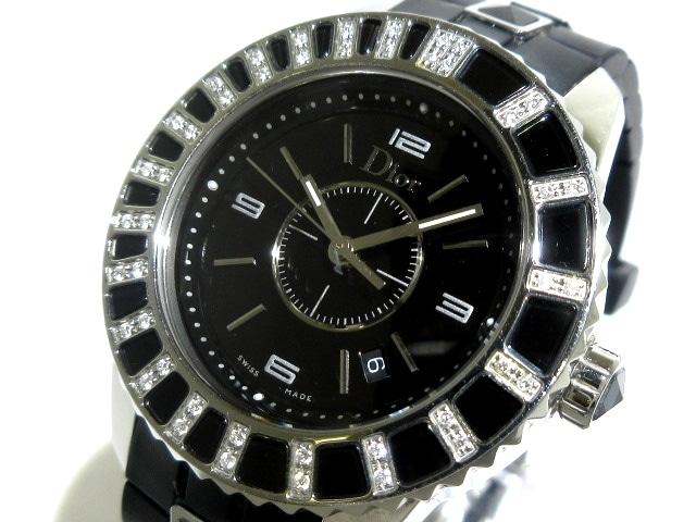 クリスチャンディオール クリスタル 腕時計
