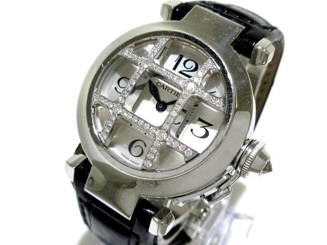カルティエ パシャ32グリッドダイヤ 腕時計