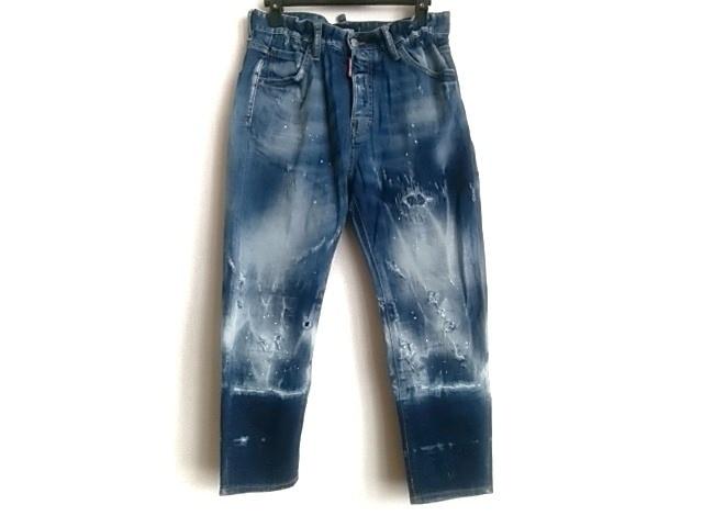DSQUARED2(ディースクエアード)のジーンズ ネイビー