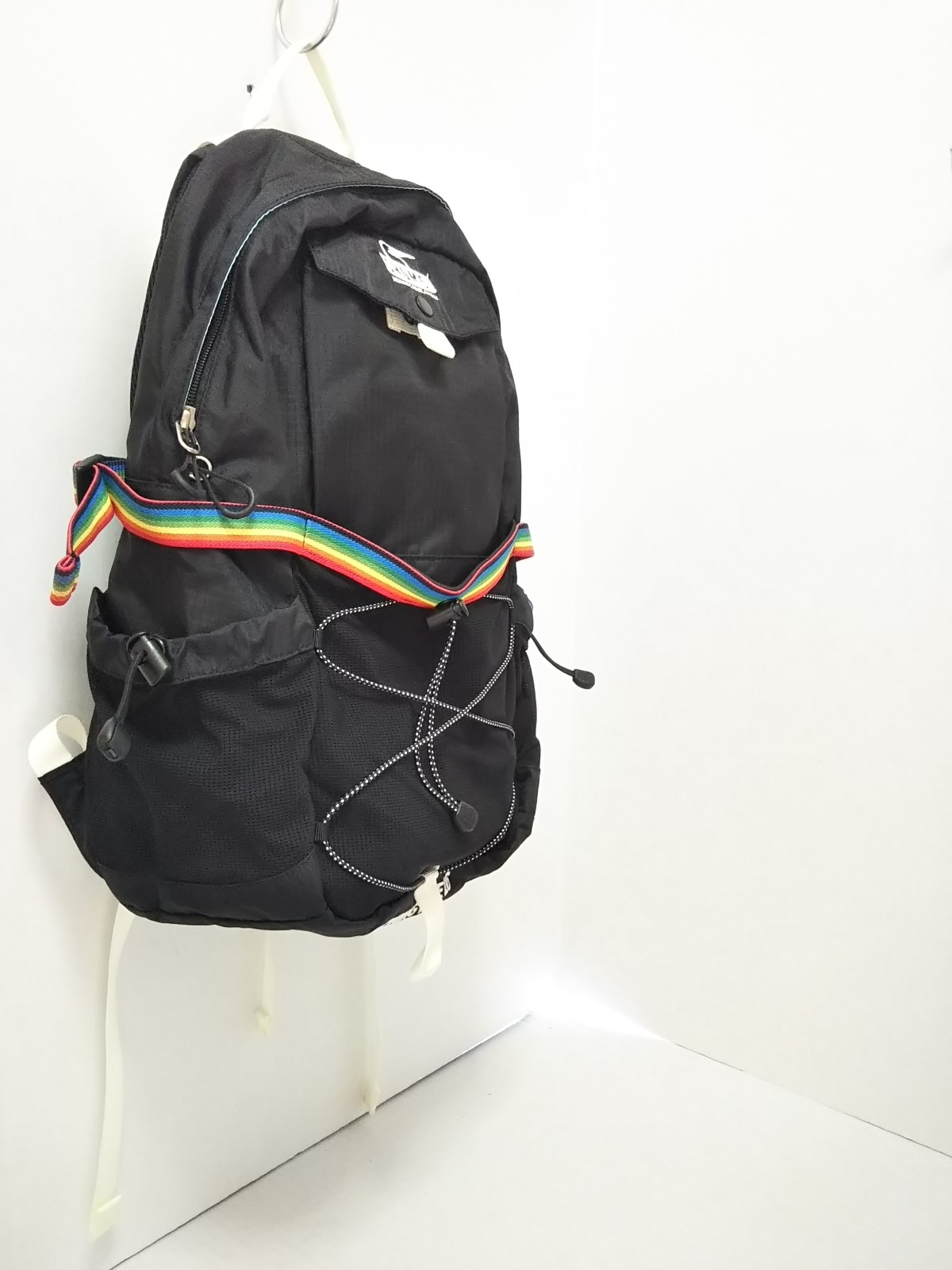 98687330725a CHUMS(チャムス) リュックサック美品 黒 ナイロン(13123688)中古 ...