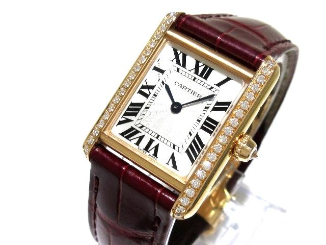 カルティエ タンクルイカルティエSM 腕時計