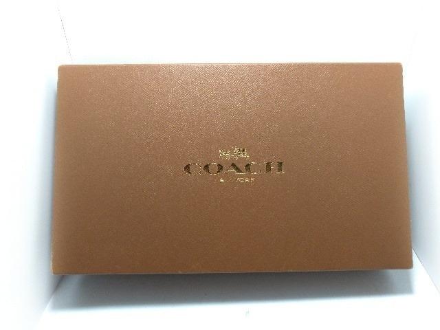 9f0385f8b901 COACH(コーチ) 財布新品同様 - 63406 黒×アイボリー レザー(13587201 ...