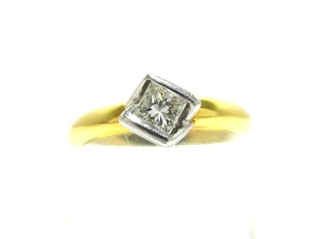 VENDOME(ヴァンドーム青山)のリング Pt900×K18YG×ダイヤモンド