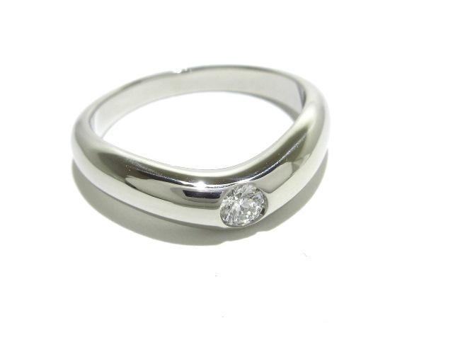 406954794061 ブルガリ リング新品同様 コロナリング Pt950×ダイヤモンド(13124732 ...