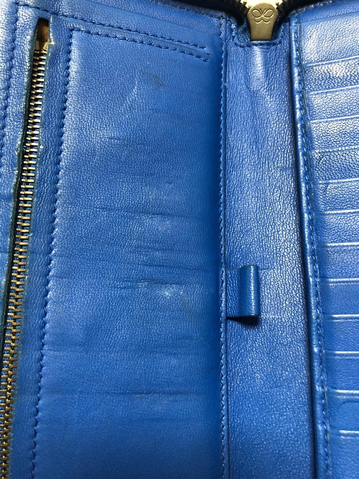 5fc19f3c4860 ボッテガヴェネタ 長財布 イントレチャート B05292904Q ブルー(13228865 ...