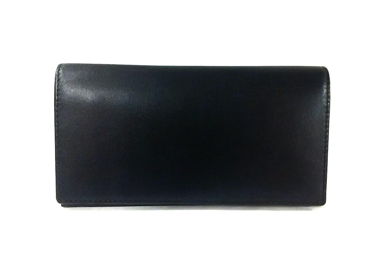 1041a52f53c7 エッティンガー 長財布 スターリング 黒×レッド カーフレザー(13222569 ...