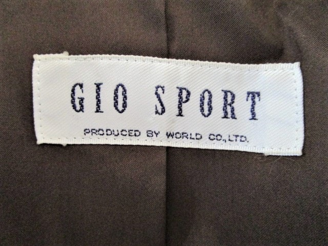 GIO SPORT(ジオスポーツ)のスカートセットアップ