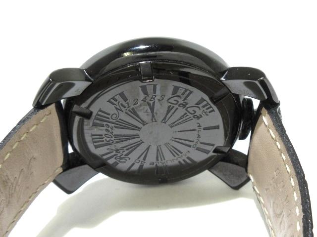 cheap for discount 2b003 183d6 GAGA MILANO(ガガミラノ)/MANUALE 40/腕時計/型番5022の買取実績 ...