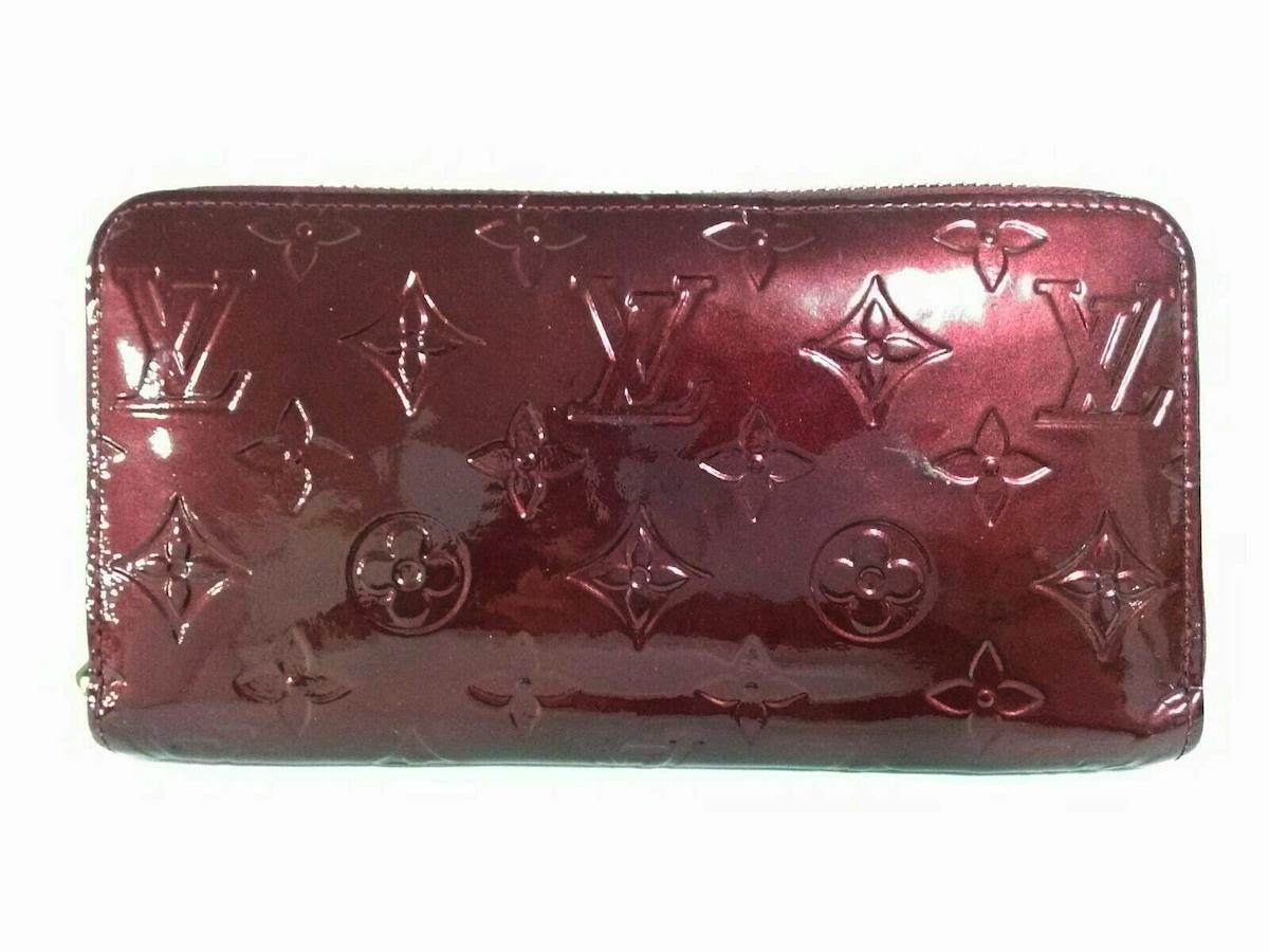 size 40 18338 599e0 ルイヴィトン 長財布 モノグラムヴェルニ ジッピー・ウォレット