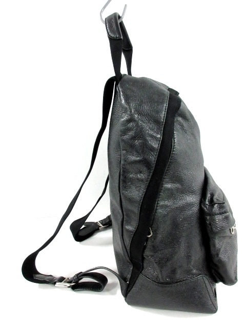 low priced fbabc 971af バレンシアガ リュックサック ネイビーバックパック 409010 黒