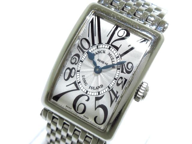 new style 10f6c c6670 フランクミュラー 腕時計 ロングアイランド 902QZ レディース SS