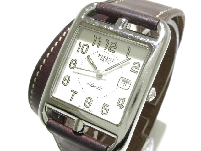 best service ea846 82f04 HERMES(エルメス)/ケープコッド Wトゥール/腕時計/型番CC1 ...