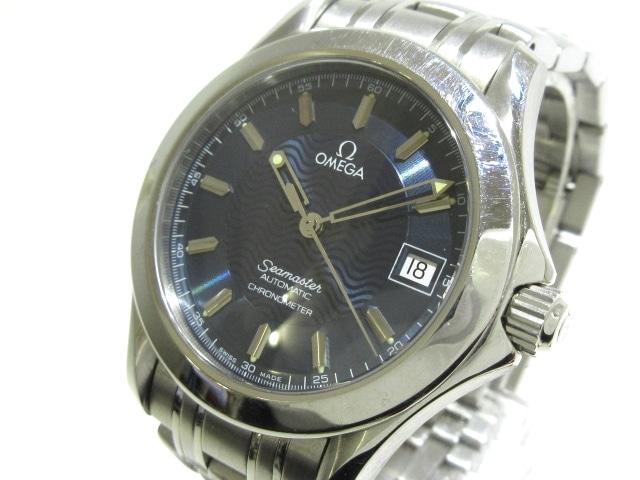 e85c7a610c51 OMEGA(オメガ) 腕時計 シーマスター 2501.81 メンズ SS ネイビー ...