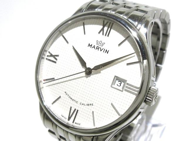 1f6d1d9de5 MARVIN(マーヴィン) 腕時計 M117-12 メンズ 裏スケ 白(13119784)中古 ...