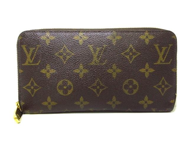 on sale 55af1 710f6 ルイヴィトン 長財布 モノグラム ジッピー・ウォレット M60017