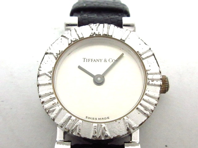 size 40 369b4 39f26 ティファニー 腕時計 アトラスラウンド D286753 レディース シルバー